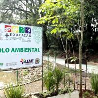 Inaugurado o Pólo Ambiental - Escola de Educação Integral