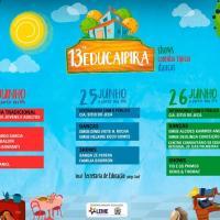13ª Educaipira acontece nos dias 24, 25 e 26 de junho