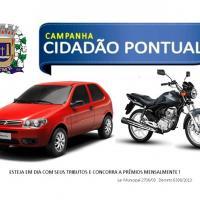Proprietário de imóvel no Centro ganha o carro 0 km da Campanha Cidadão Pontual