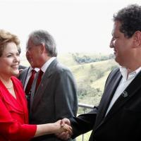 Dilma recebe Paulo Blascke e reafirma investimentos em Leme